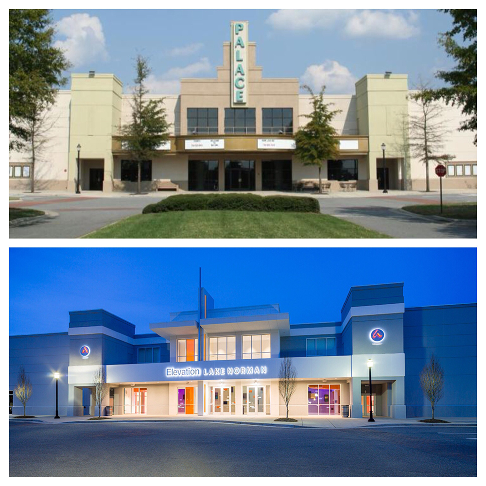 Before and After exterior