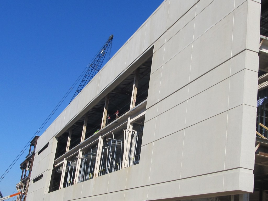 Precast at South Side Of Building