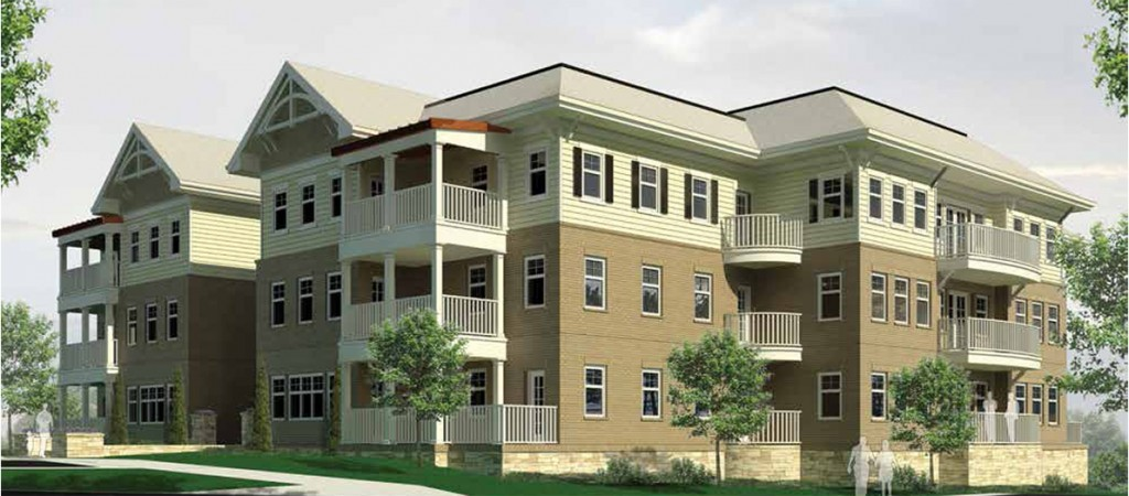Independent residences at Plantation Estates Retirement Community