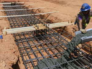 Covenant Day School Footings