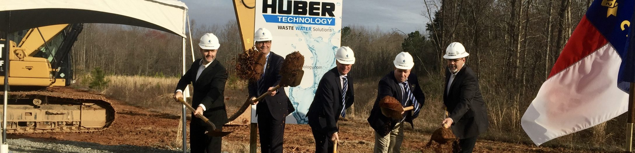 Huber_Technology_groundbreaking