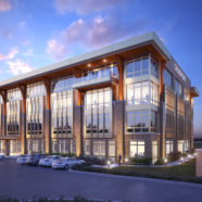 Groundbreaking underway for speculative Class-A office building in CrossRidge Center
