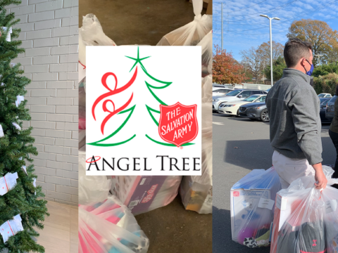 Supporting the Salvation Army Angel Tree Project