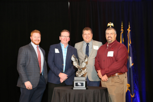 Mecklenburg County EMS (MEDIC) Headquarters Eagle Award of Excellence